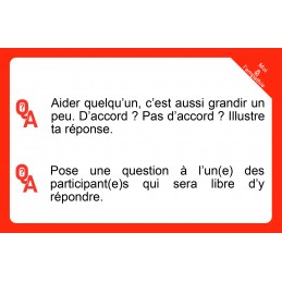 "Jeu de cartes  ""Moi & L'Empathie : Questions de perception(s)"""