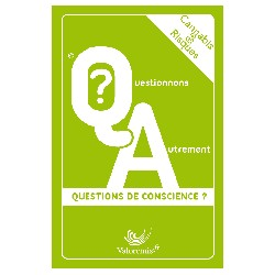 "Jeu de cartes  "" Cannabis & Risques : Questions de conscience  ?"""